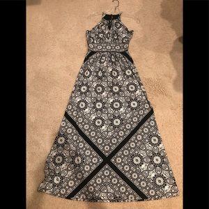 White House Black Market Maxi dress XS
